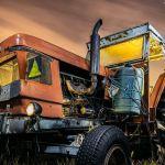 S21 Agricultura – Fotografía nocturna de un tractor