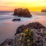 El fin de la noche… – Larga exposición al amanecer en Menorca