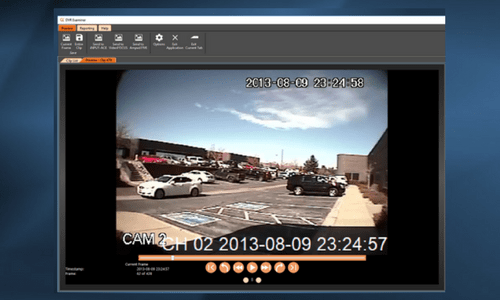DVR Examiner features video player