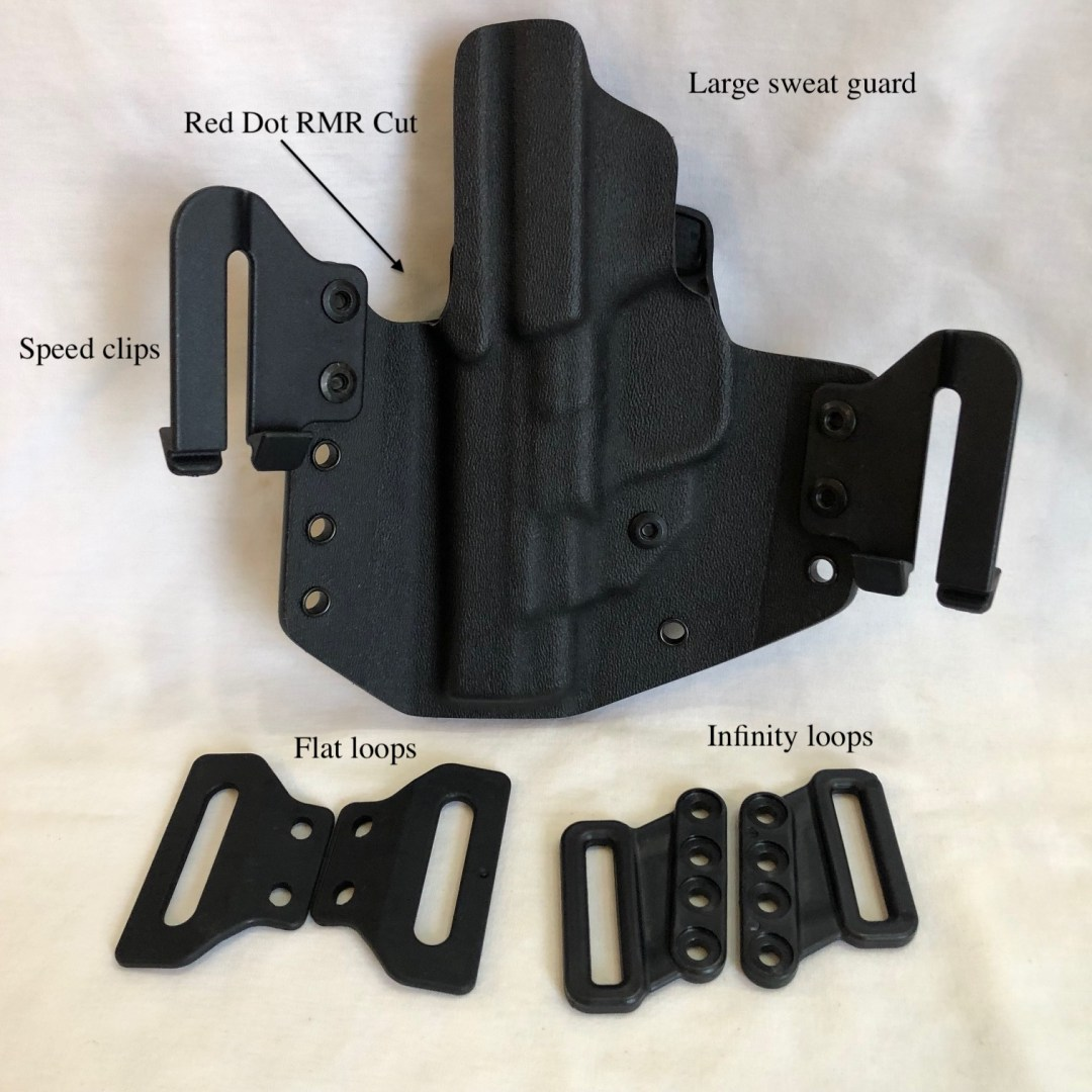 """S&W M&P performance Center shield 4""""holster"""