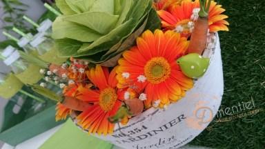 compo florale choux