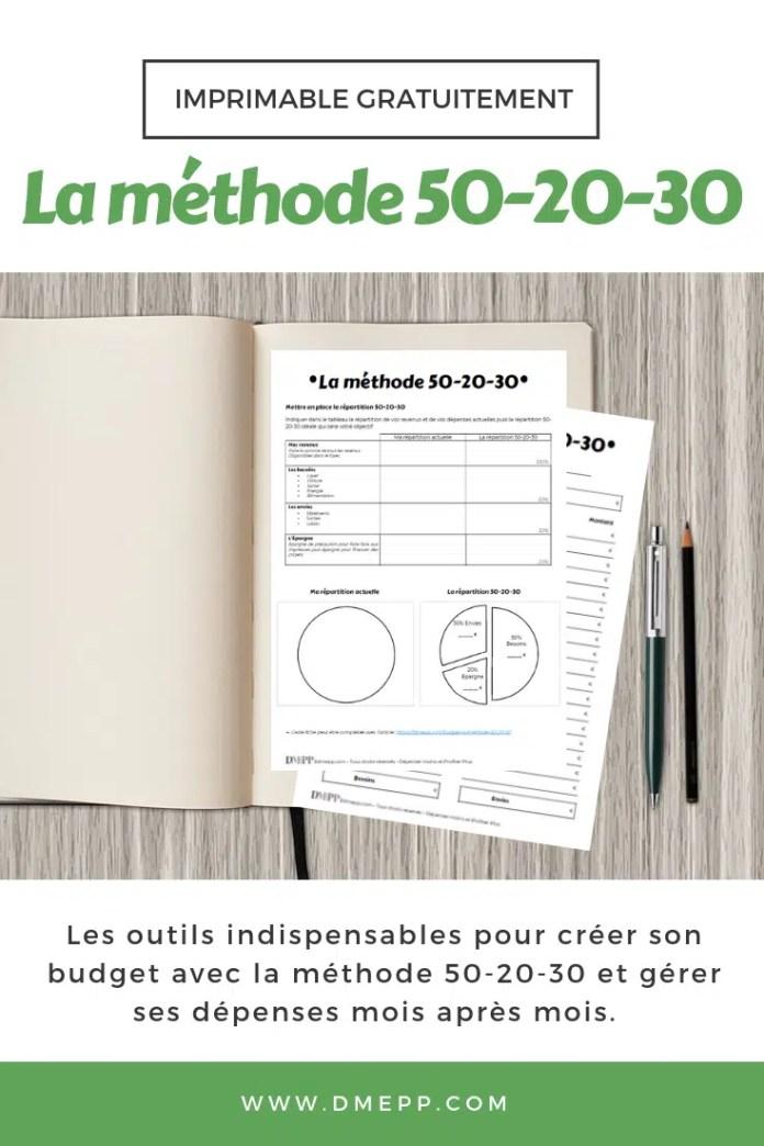 la méthode 50-20-30 pdf