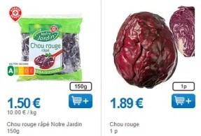 fruits et légumes moins chers
