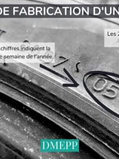 date de fabrication du pneu