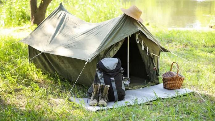 matériel de camping pas cher