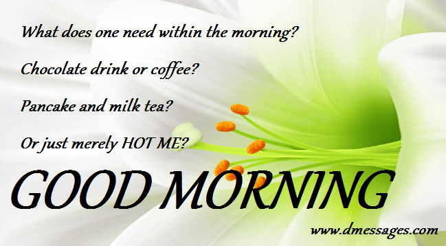 sweetgood morningsms