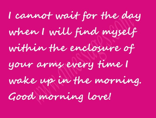 good morning msg for wife
