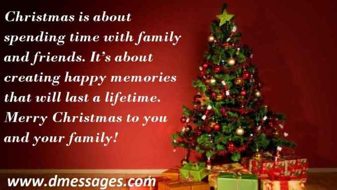 inspirational christmas greetings message