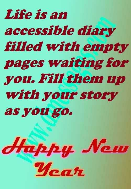 Inspirational happy new year quotes wishes