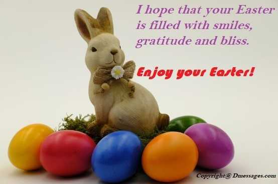 Easter blessing messages