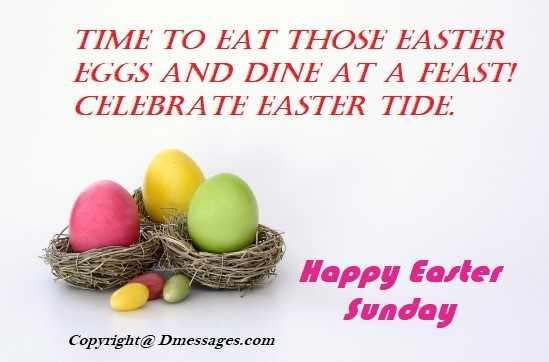 Easter messages quotes