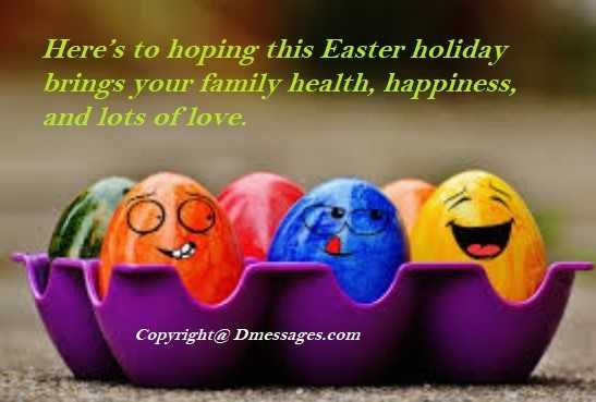 Fun easter messages