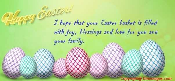 Greeting easter cards messages