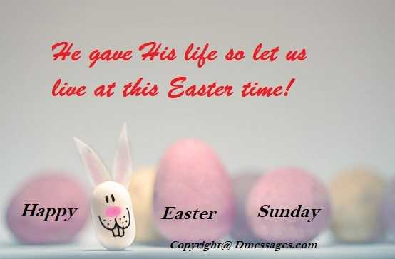 Happy easter cards messages