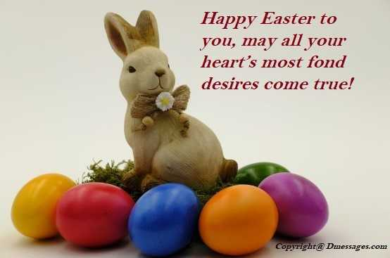 Happy easter messages to my love