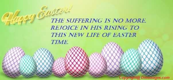 Messages on easter