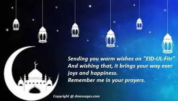 Happy Eid mubarak sms for lover - Eid mubarak sms for lover