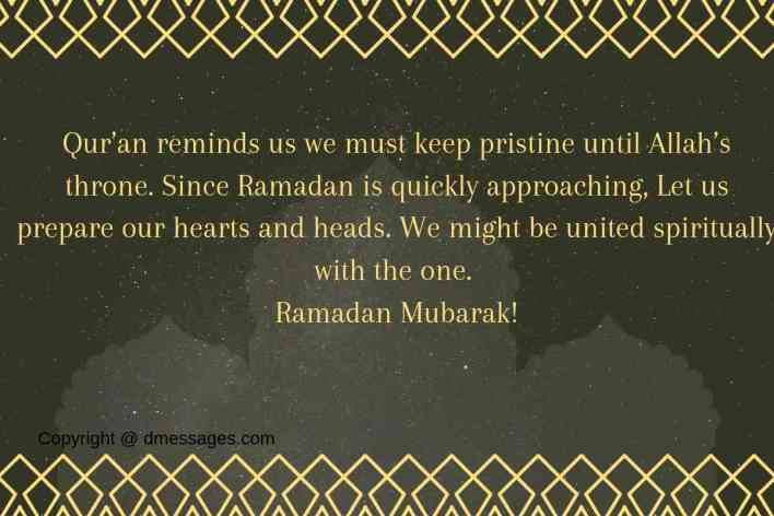 """Ramadan Mubarak Messages"