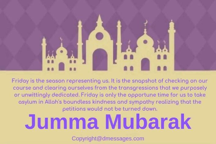 happy jumma mubarak image