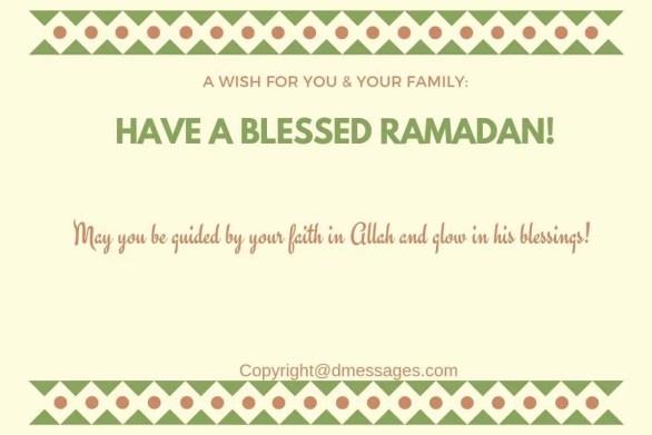 text msg for ramadan