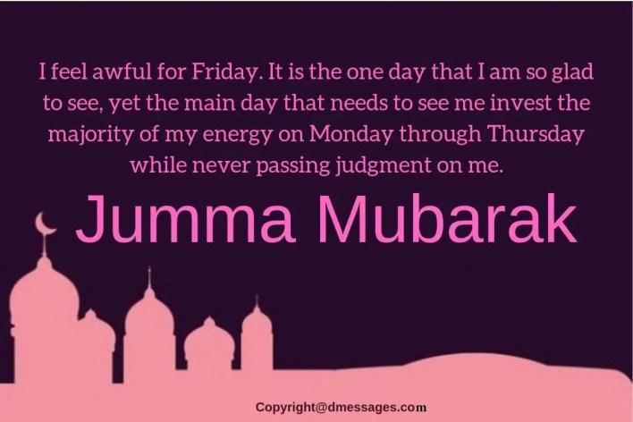 what is jumma mubarak