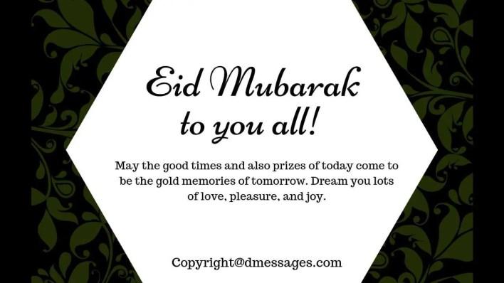 eid mubarak status about group friends