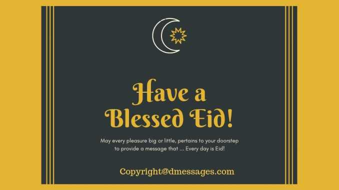eid mubarak wishes message
