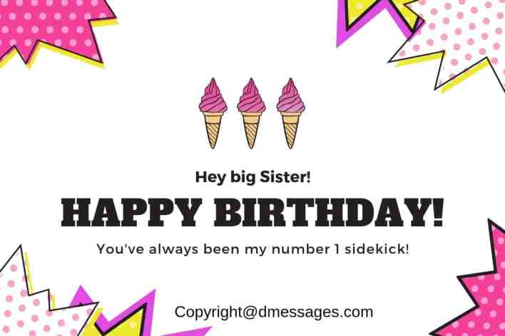 birthday wishes for a sister