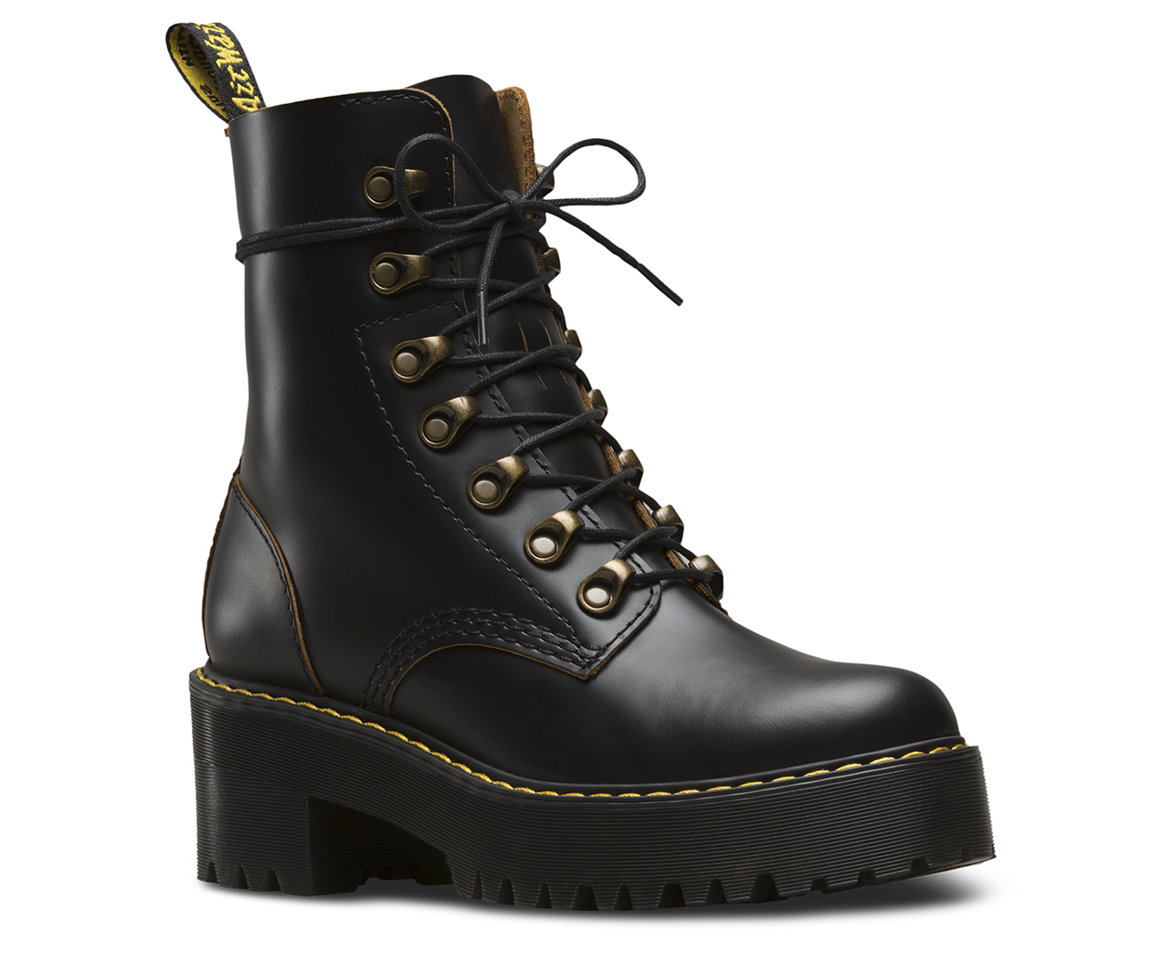 LEONA VINTAGE SMOOTH  Womens Boots  Dr Martens Official