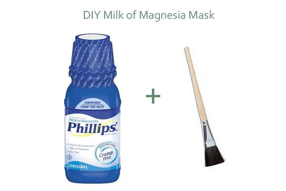 Milk of Magnesia Cure Acne