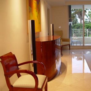 The Ocean Club, High-end audio visual System Integration, design, sales and installation in Key Biscayne, Florida.