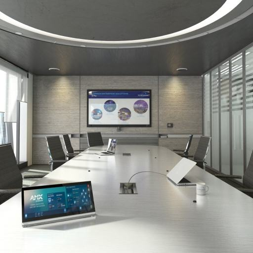 Sales, installation, and integration of AMX N7142 Presentation Switcher with Networked AV, in the Miami / Fort Lauderdale area. Available at dmg Martinez Group.