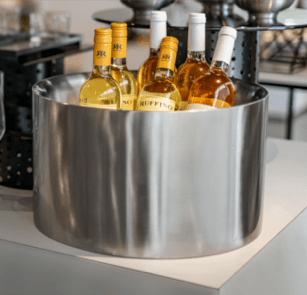 NEW & In-Stock: Stainless Steel Beverage Tubs & Buffet Bowls