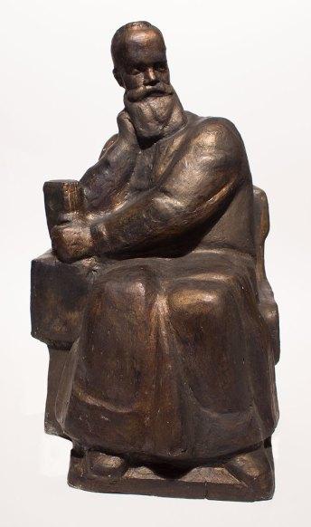 Модель першого пам'ятника Михайлові Грушевському. Скульптор Я. Мотика. 90-ті роки ХХ ст.