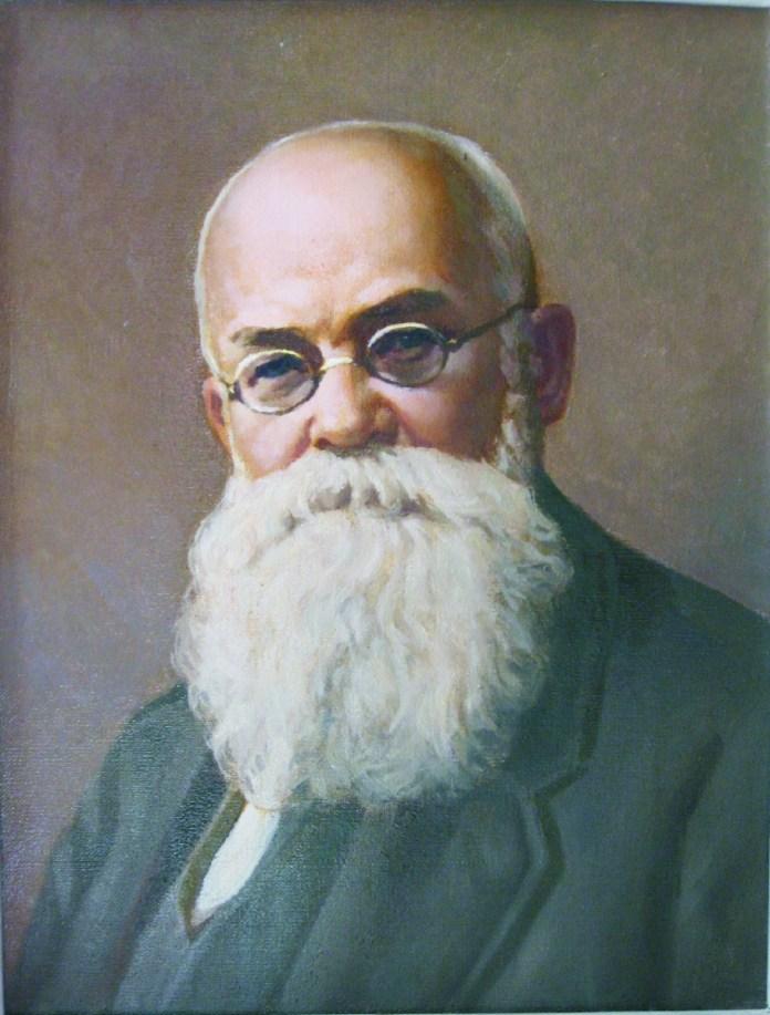 Портрет Михайла Грушевського. Художник В.Косінов
