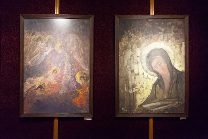 Виставка «Сакральні мотиви творчості Георгія Косміаді»