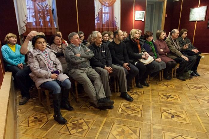 Презентація виставки «Сакральні мотиви творчості Георгія Косміаді»
