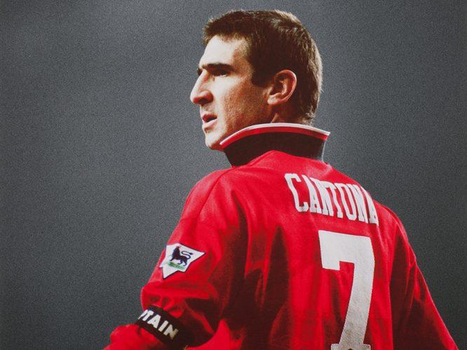När fotbollen förändrades, the united way, och fotboll. Eric Cantona Dmh Den Moderna Hantverkaren