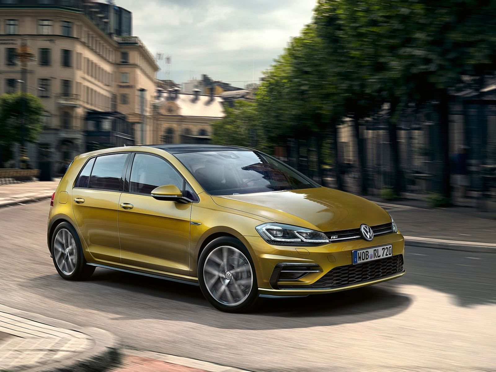 hight resolution of the 2019 volkswagen golf will gain power and a new aerodynamic body carbuzz