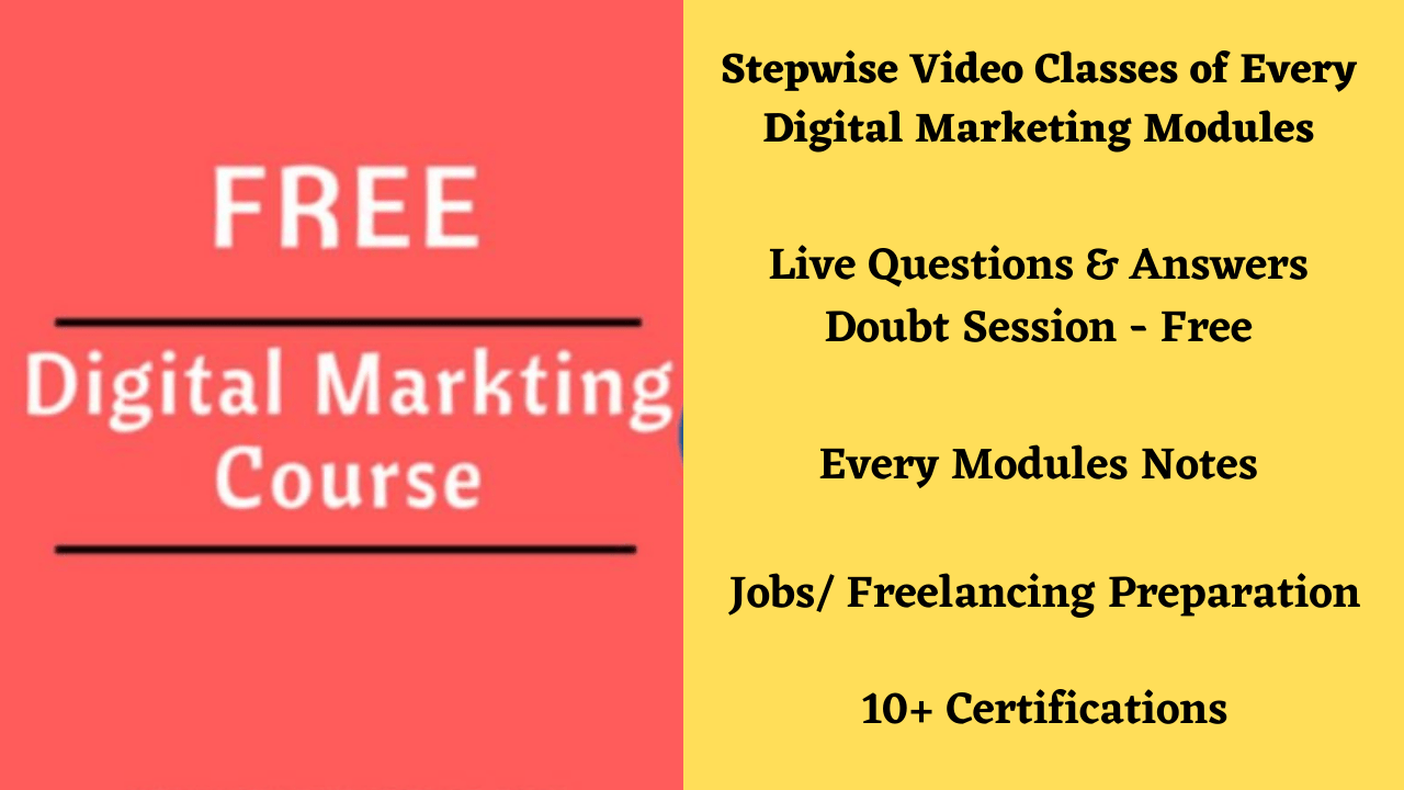digital marketing course kaise kare