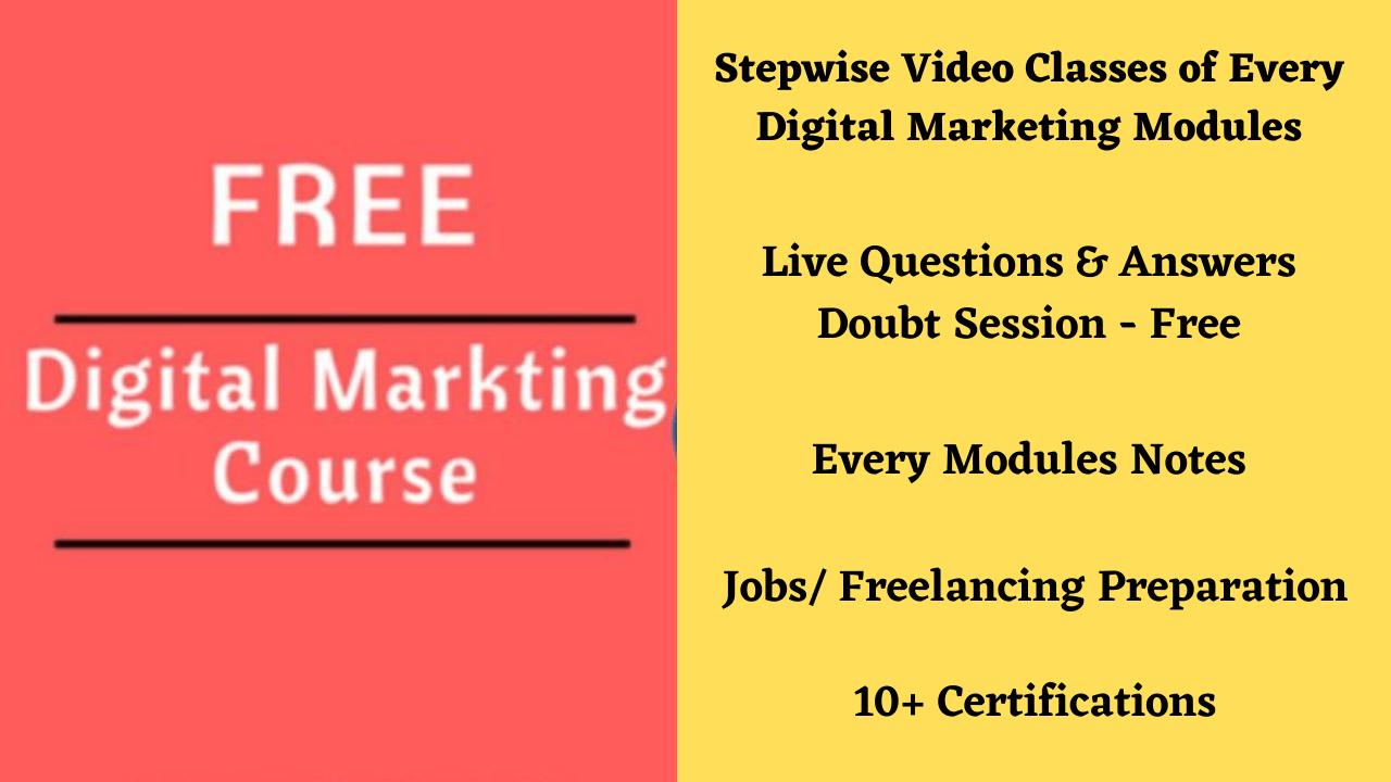 digital marketing course kaise kare