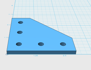 90Degree Plate 3D Model View2