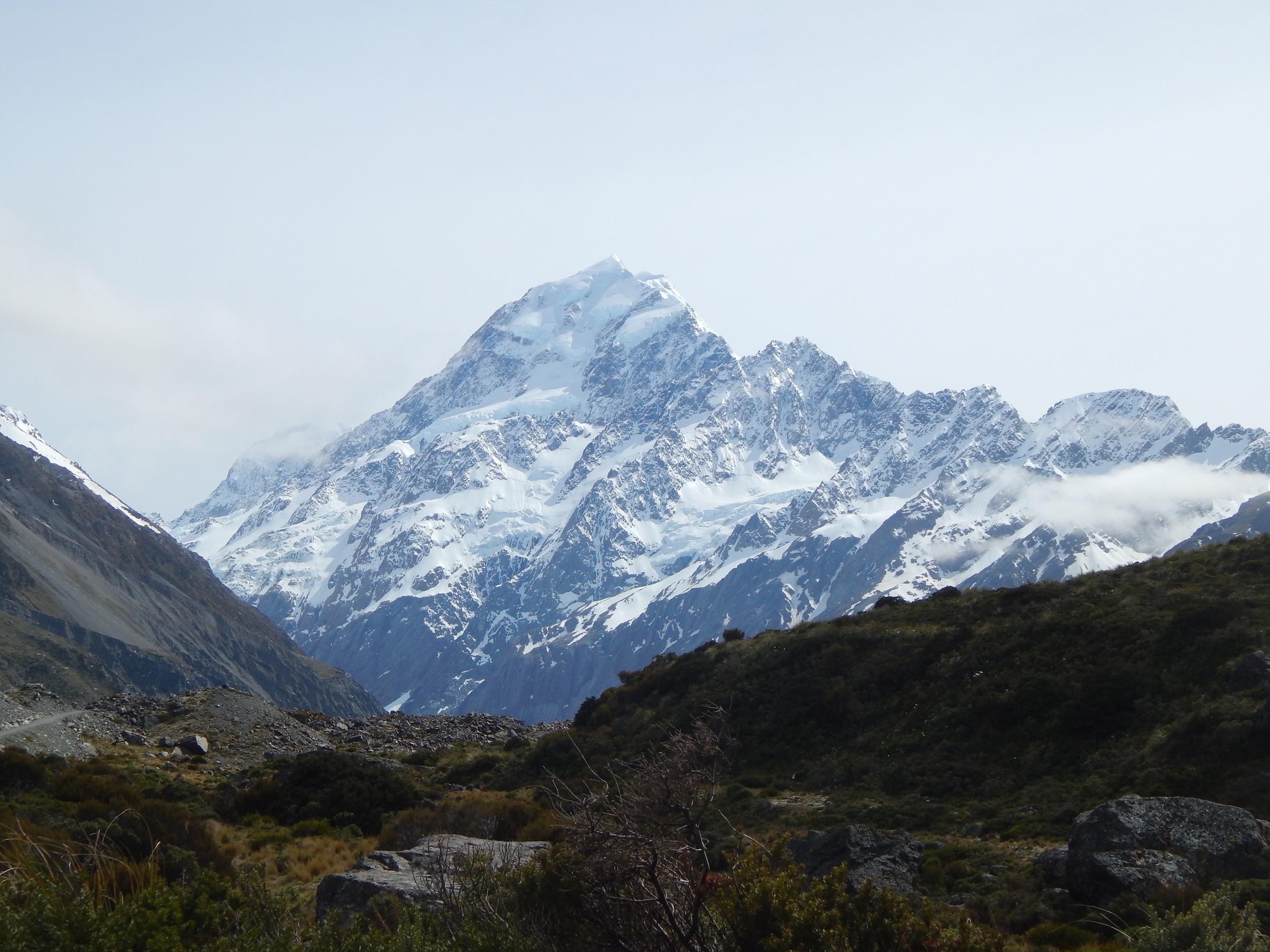 Гора Кука, конечная точка тропы уже близко