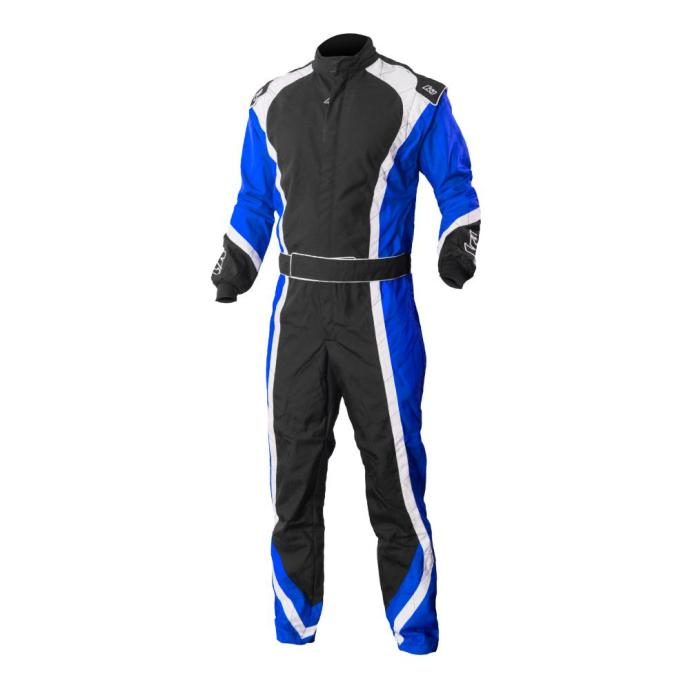 apex blue kart suit