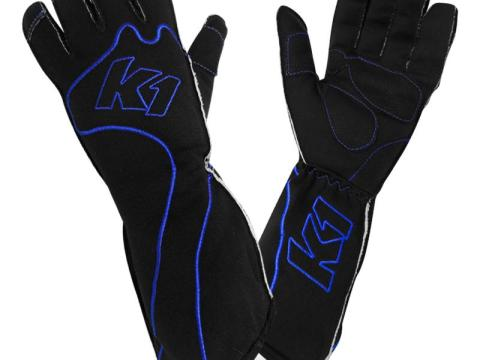 rs-1-blue k1 kart gloves