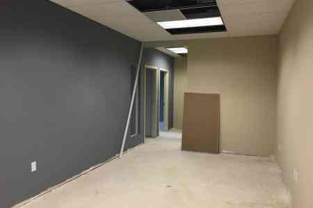 Donnelly Minter & Kelly Office Expansion: Area under construction