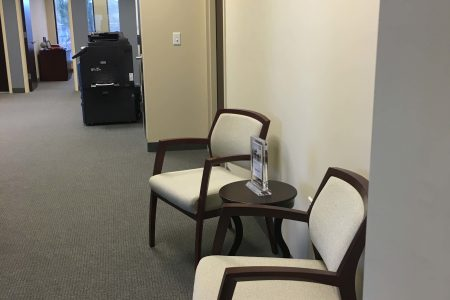 Donnelly Minter & Kelly Office Expansion: Construction Completed of Waiting Area