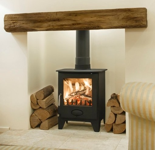 Electric Fireplace India Newman Fireplace Clovelly Oak Effect Stone Beam | Newman