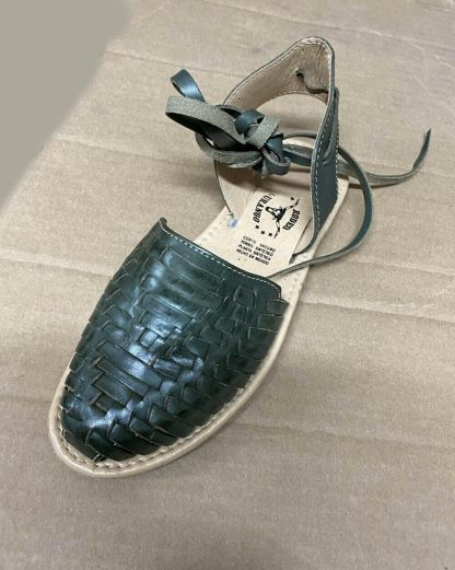 Women Handmade Authentic Mexican Genuine Soft Leather Sandal Huaraches -Straps