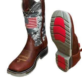 Men's Cowhide Work Boots